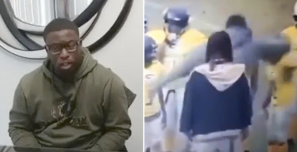 Viral video shows youth football coach repeatedly hitting child