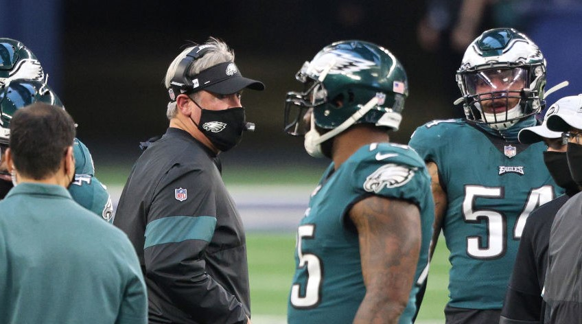 Eagles Not Talking About Trading Carson Wentz