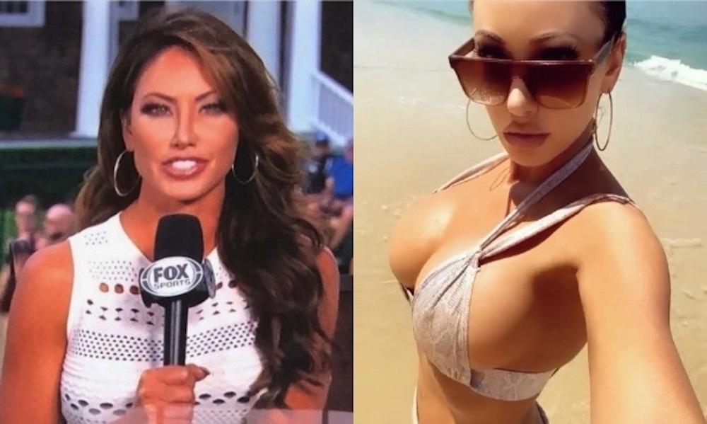 Holly Sonders Golf Analyst Bikini Babe