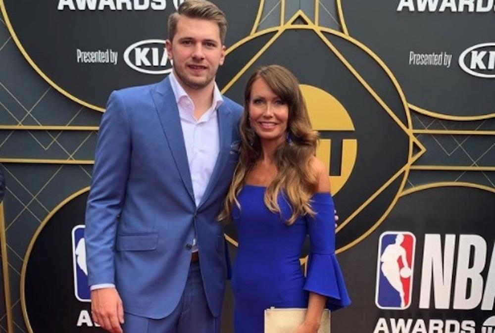 Luka Doncic Mom Mirjam Poterbin NBA Awards
