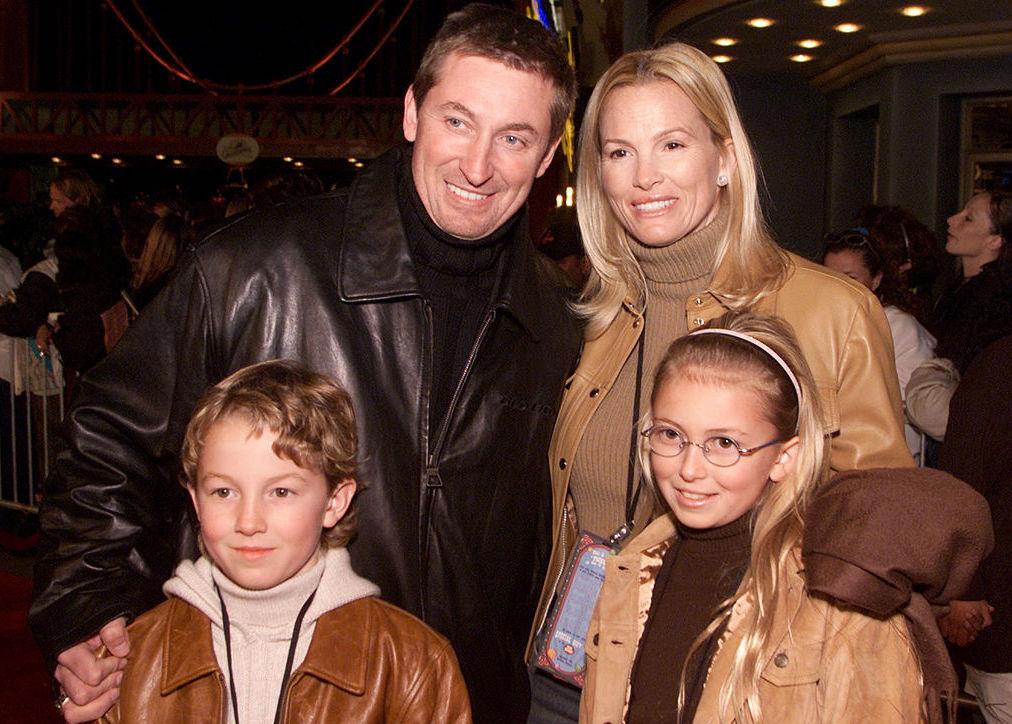 Paulina Gretzky Wayne Gretzky family