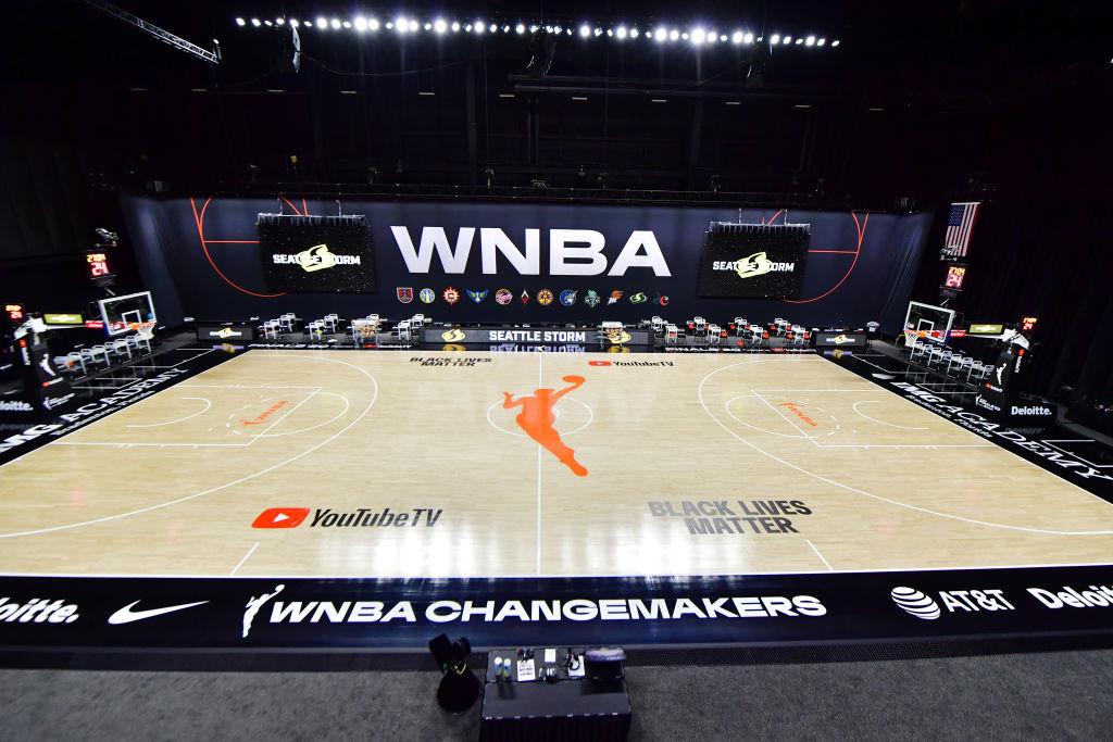 WNBA playing surface