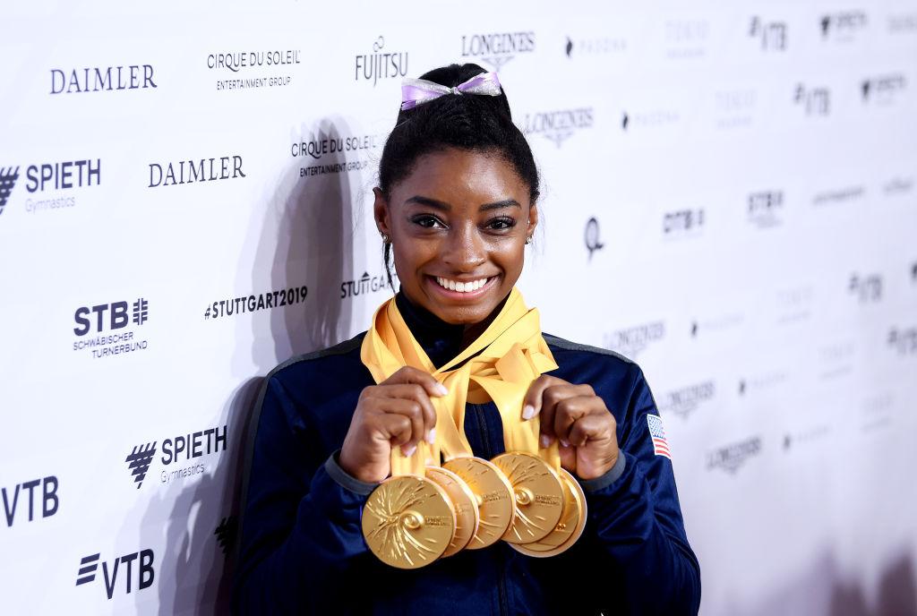 simone biles olympic champion
