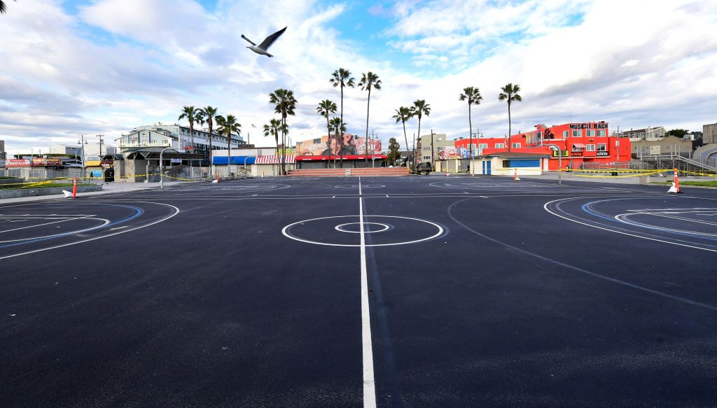 outdoor bball surface
