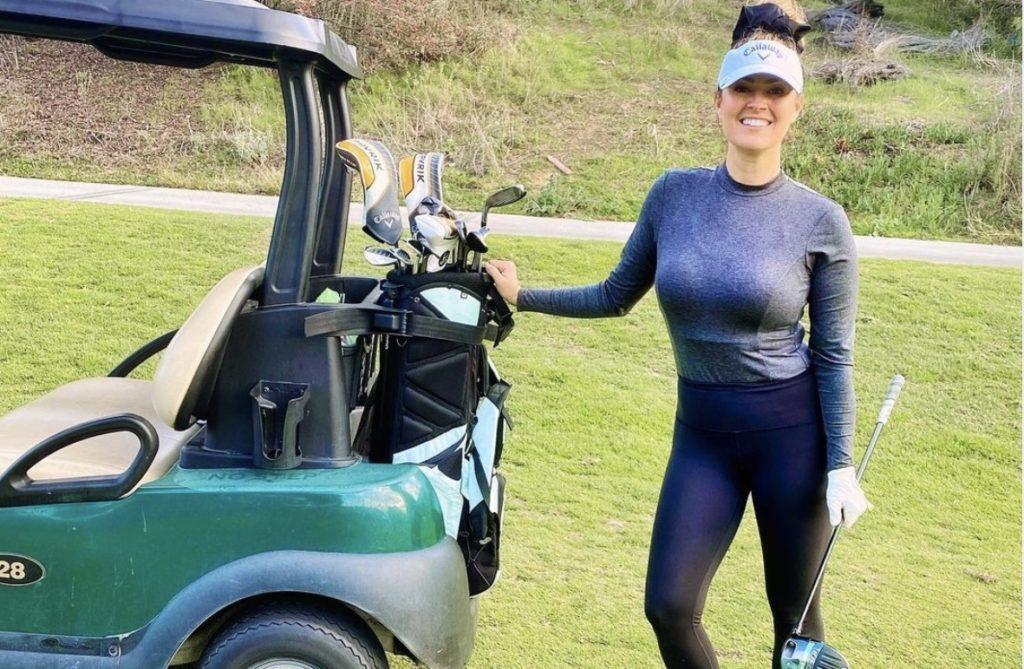Amanda Balionis golf