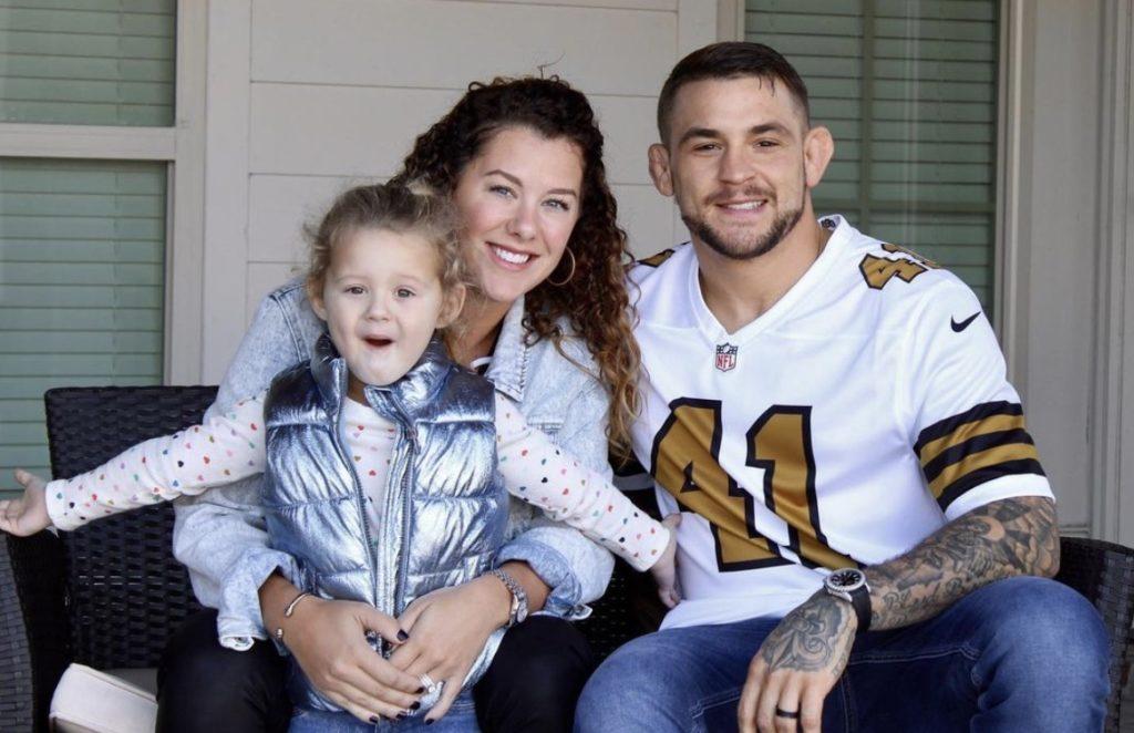 Dustin Poirier wife family Jolie Poirier