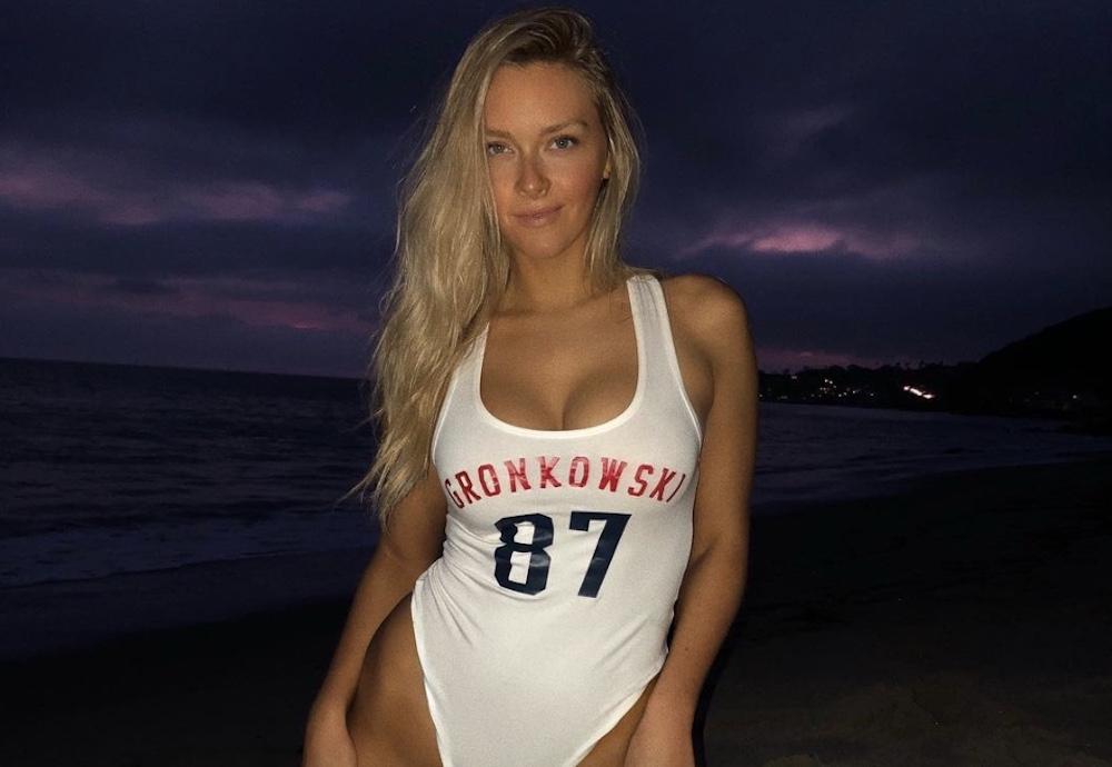 rob gronkowski wife girlfriend camille kostek