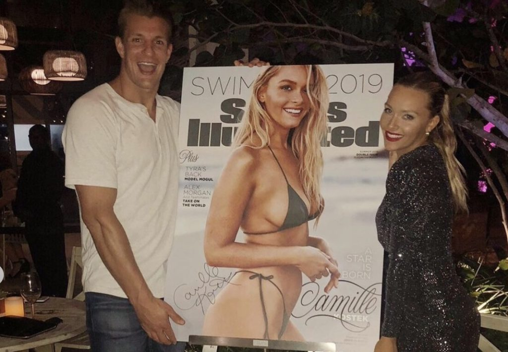 Camille Kostek sports illustrated swimsuit cover