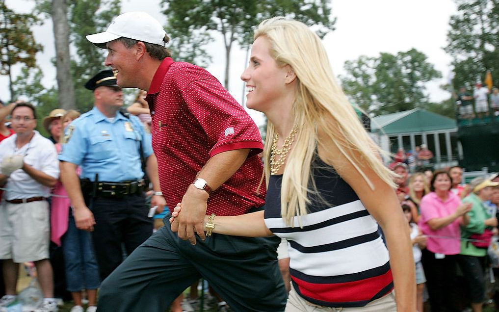 Phil mickelson wife amy mickelson