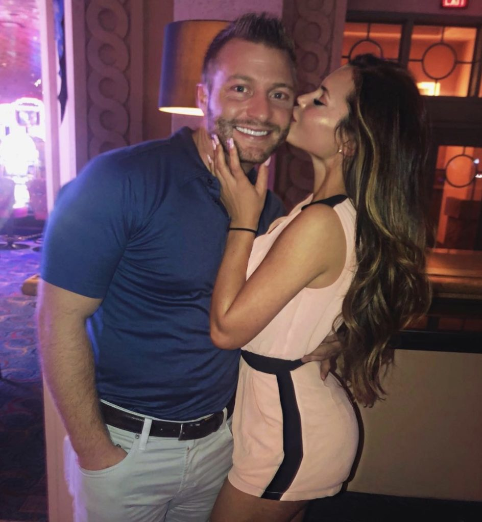 Los Angeles Rams Head Coach and his Fiancee