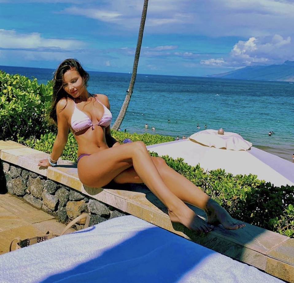 Veronika Khomyn Sean McVay Wife bikini