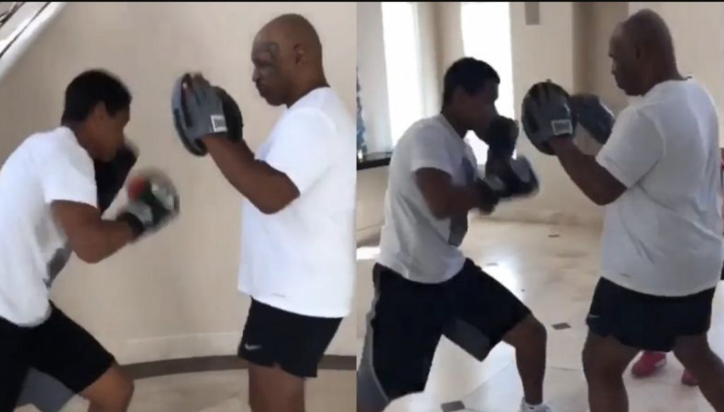 mike tyson children miguel boxing