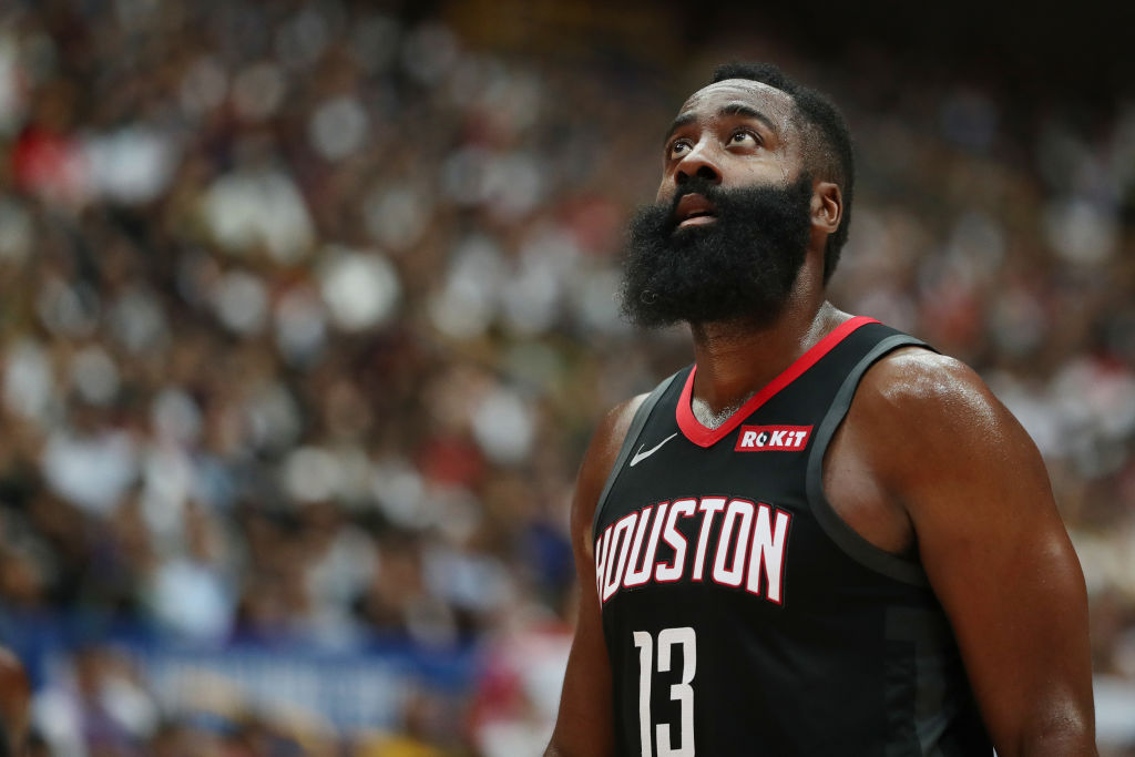 nba getty images james harden fat