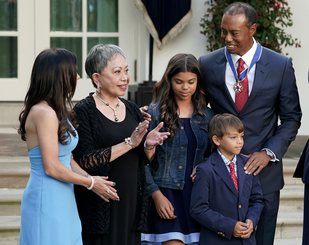 woods family at the white house