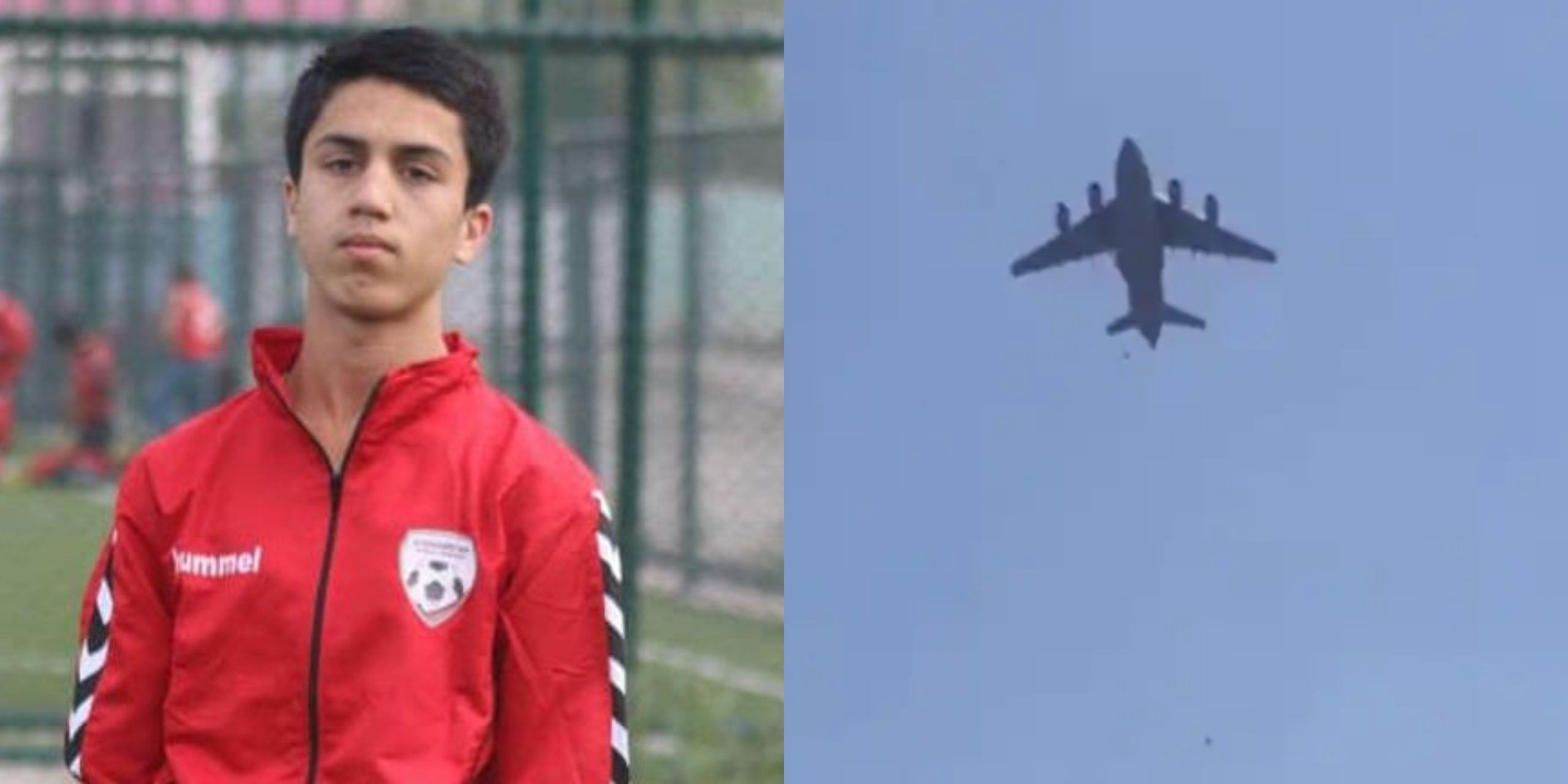 Teenager Who Died Falling From US Plane Identified Afghanistan Youth National Soccer Player (VIDEO)